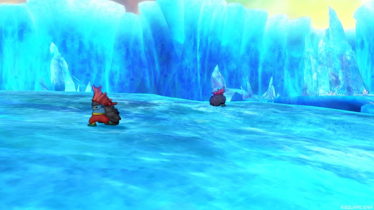 野 の 流氷 白 霜